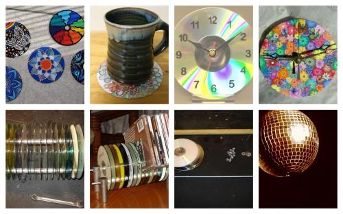 Ideias para reciclar cds em acess rios para o lar blog - Reciclar cosas para el hogar ...