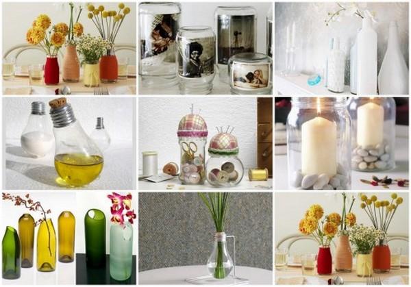 Ideias para reutilizar objectos de vidro blog linhaceira for Consejos para el hogar decoracion